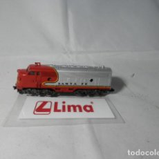 Trenes Escala: LOCOMOTORA DIESEL AMERICANA ESCALA N DE LIMA . Lote 190883728