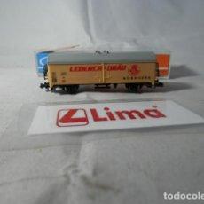 Trenes Escala: VAGÓN CERRADO ESCALA N DE LIMA . Lote 190936653