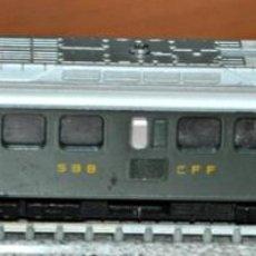 Trenes Escala: LOCOMOTORA ELECTRICA RBE 4/4 1435 DE LA SBB CFF DE LIMA. ESCALA N, VÁLIDO IBERTREN.. Lote 191105821