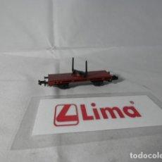 Trenes Escala: VAGÓN TELERO ESCALA N DE LIMA . Lote 191357737