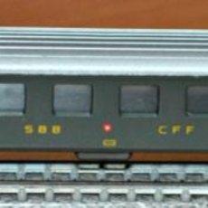 Trenes Escala: COCHE DE VIAJEROS 4 EJES 2ª CLASE DE LA SBB CFF DE LIMA, REF. 318. ESCALA N, VÁLIDO IBERTREN.. Lote 191826625