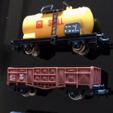 Trenes Escala: LOTE TRES VAGONES LIMA. Lote 192772051