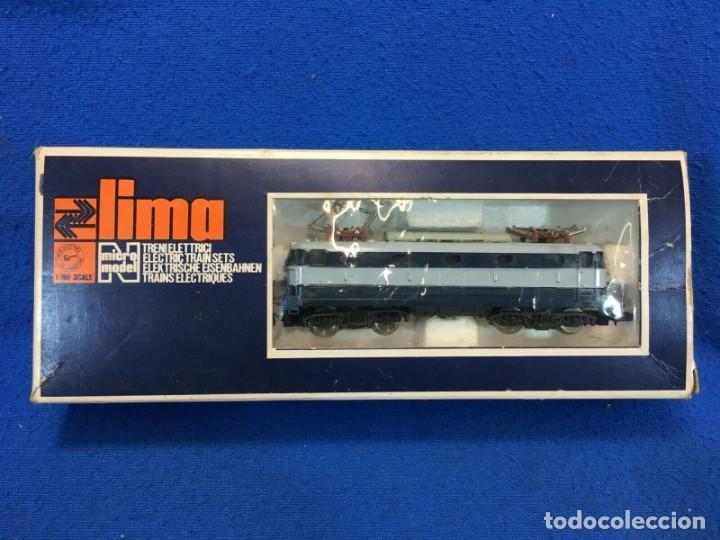 LIMA E444 001 - TARTARUGA - LOCOMOTORE PER TRENO SCALA N CON SCATOLA (Juguetes - Trenes a Escala N - Lima N)
