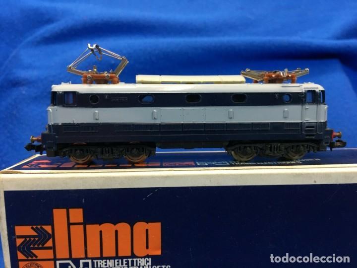 Trenes Escala: LIMA E444 001 - TARTARUGA - LOCOMOTORE PER TRENO SCALA N CON SCATOLA - Foto 2 - 193737452