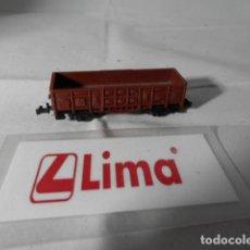 Trenes Escala: VAGÓN BORDE ALTO ESCALA N DE LIMA . Lote 193762261