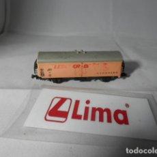 Trenes Escala: VAGÓN CERRADO ESCALA N DE LIMA . Lote 193763878