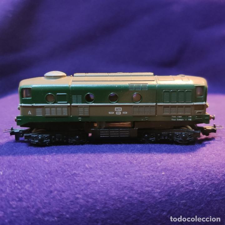 LOCOMOTORA FIAT DIESEL D 341. LIMA. ESCALA N. TREN. (Juguetes - Trenes a Escala N - Lima N)