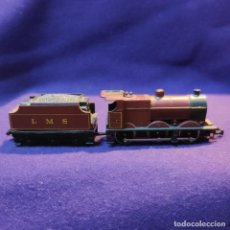 Trenes Escala: LOCOMOTORA CON VAGON CARBONERA 4683 - L M S. LIMA. ESCALA N. TREN.. Lote 194138218