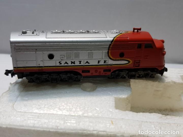 Trenes Escala: LIMA Locomotora Diesel Santa Fé escala N en blister original - Foto 2 - 195231202