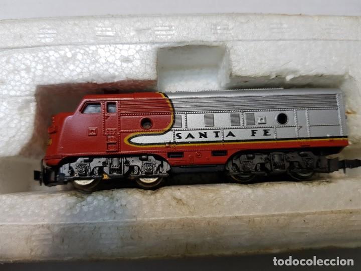 Trenes Escala: LIMA Locomotora Diesel Santa Fé escala N en blister original - Foto 5 - 195231202