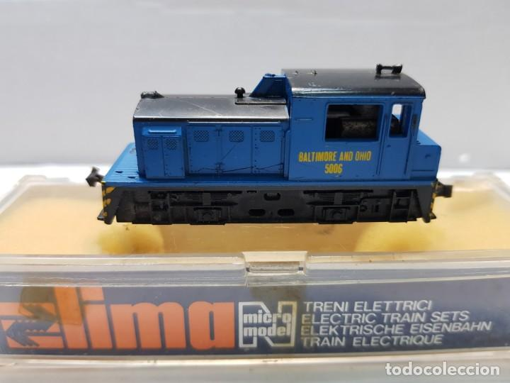 LIMA LOCOMOTORA DIESEL BALTIMRE AND OHIO 5006 ESCALA N EN BLISTER (Juguetes - Trenes a Escala N - Lima N)