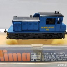 Trenes Escala: LIMA LOCOMOTORA DIESEL BALTIMRE AND OHIO 5006 ESCALA N EN BLISTER. Lote 195232830