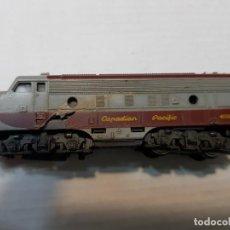 Trenes Escala: LIMA LOCOMOTORA DIESEL CANADIAN PACIFIC 4008 ESCALA N EN BLISTER. Lote 195233632