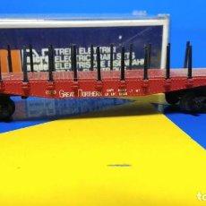 Trenes Escala: VAGÓN MERCANCÍAS GREAT MORTHERN ESCALA N - LIMA- BUEN ESTADO. Lote 195974905