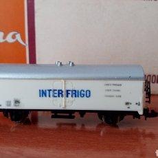 Trenes Escala: ANTIGUO VAGÓN N LIMA INTERFRIGO 452. Lote 199034088