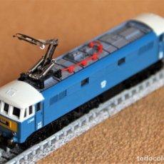 Trenes Escala: MAQUINA LOCOMOTORA LIMA E-3185. CLASE 86 ELECTRICA BLUE BOX. ESCALA N.. AÑOS 70. Lote 203100067