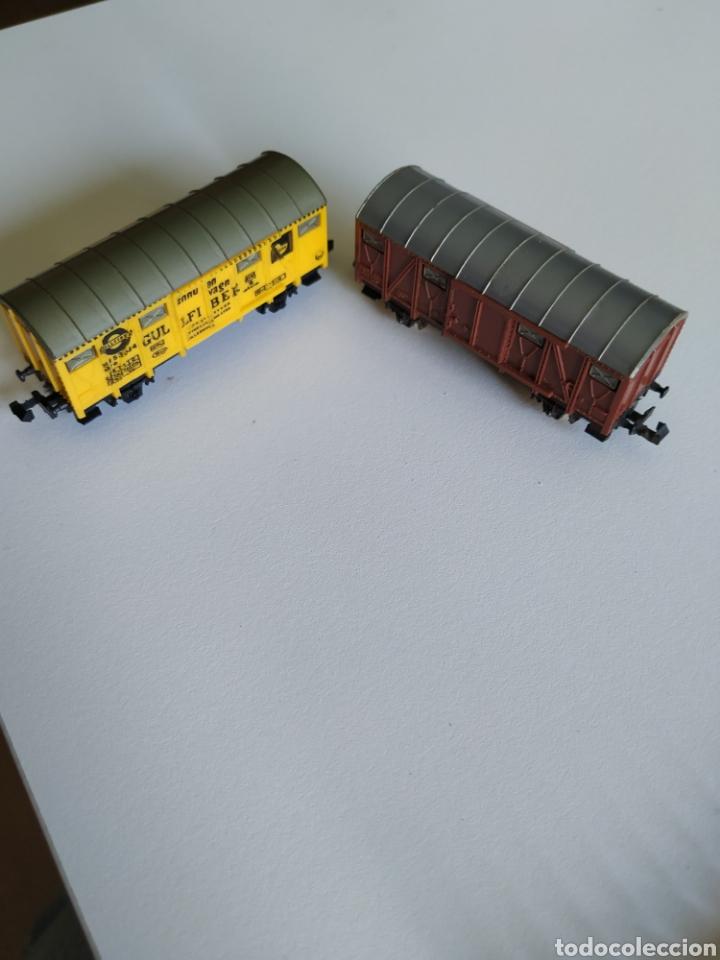 2 VAGONES LIMA ESCALA N (Juguetes - Trenes a Escala N - Lima N)