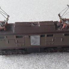 Trenes Escala: LOCOMOTORA ANTIGUA LIMA ESCALA N. Lote 214995502