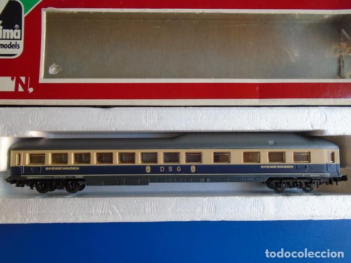 COCHE RESTAURANTE D S G DE LA DB ALEMANA MARCA LIMA REF. 32 0888 (Juguetes - Trenes a Escala N - Lima N)