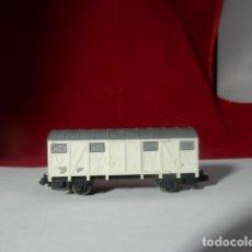 Comboios Escala: VAGÓN CERRADO ESCALA N DE LIMA. Lote 232288530