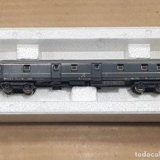 """Trenes Escala: VAGÓN POSTAL UNIFICADO SEGÚN LAS NORMAS U.I.C. """"SERIE ULZ"""" GRUPO 1719 CORREOS ITALIANOS CON CAJA. Lote 233848430"""
