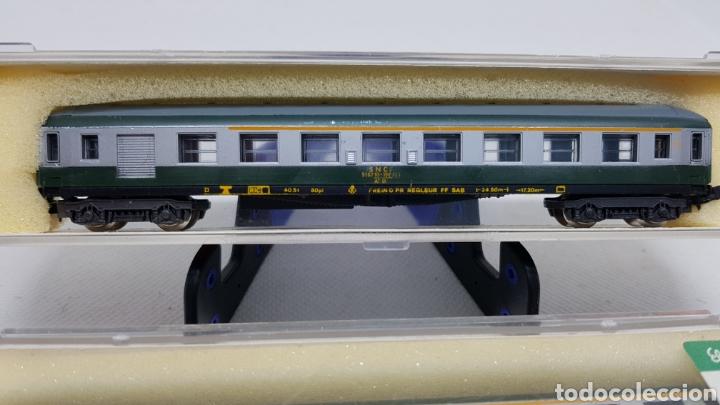 Trenes Escala: LOTE 2 VAGONES PASAJEROS TREN LIMA ESCALA N MODELO 330 NUEVOS AÑOS 70 - Foto 2 - 254447710