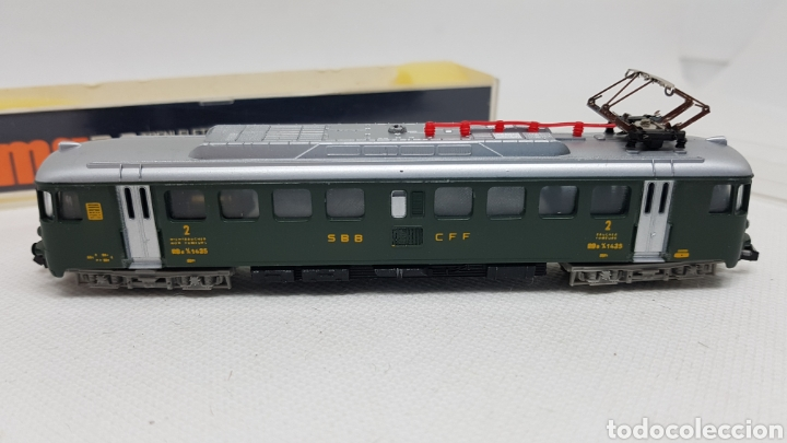 Trenes Escala: LOCOMOTORA TREN LIMA ESCALA N MODELO 204 NUEVOS AÑOS 70 - Foto 3 - 254447985