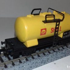 Trenes Escala: LIMA N CISTERNA SHELL -- L49-145 (CON COMPRA DE 5 LOTES O MAS, ENVÍO GRATIS). Lote 260725575