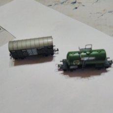 Treni in Scala: 2 VAGONES MARCA LIMA ESCALA N, COMP IBERTREN N. Lote 260737665