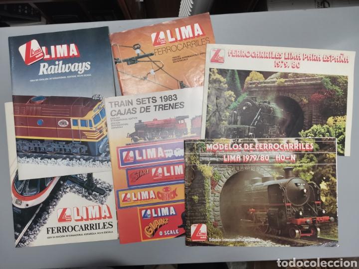 REVISTAS LIMA (Juguetes - Trenes a Escala N - Lima N)