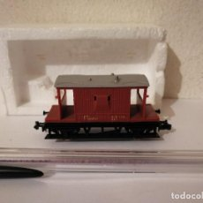 Trenes Escala: VAGON LIMA - TREN - MARRON. Lote 266980964