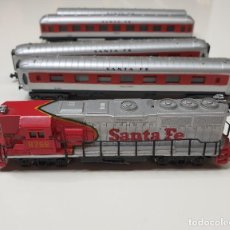 Trenes Escala: LOTE DE 1 MAQUINA Y 4 VAGONES LIMA .VER DESCRIPCIÓN.. Lote 269196253