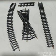 Trenes Escala: VÍA DE CRUCE - LIMA N MADE IN ITALY - CRUCE DE VÍAS TREN Y OTRAS VIAS. Lote 276393003