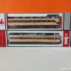 Trenes Escala: LIMA N 2 COMPONENTES DEL TREN EXPRESO JAPONÉS. REFERENCIAS 220290 Y 220291. Lote 277169918