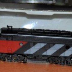 Comboios Escala: LOCOMOTORA DIESEL CON LUZ CANADIAN NATIONAL 4008 DE LIMA. ESCALA N. Lote 285438053