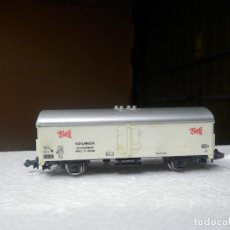 Trenes Escala: VAGÓN CERRADO ESCALA N DE LIMA. Lote 294094378