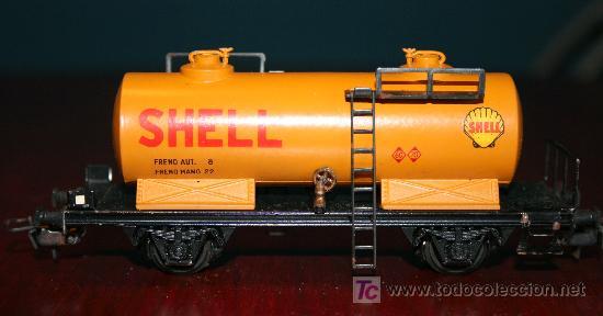 Trenes Escala: SIN MARCA - VAGÓN CISTERNA DE SHELL - Foto 4 - 26944820
