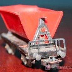 Trenes Escala: MARKLIN - VAGÓN BASCULANTE PARA CARBÓN CON DISPOSITIVO DESCARGA AMBOS LADOS REF.4513. Lote 26924202