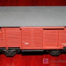 Trenes Escala: SIN MARCA - VAGÓN CON PUERTAS MÓVILES. Lote 26924236