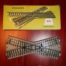 Trenes Escala: MARKLIN - CAJA CON CRUCE - REF. 5114. Lote 26555781