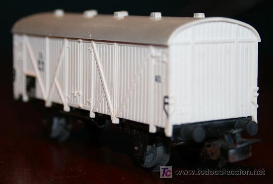 Trenes Escala: MARKLIN - VAGÓN MERCANCIAS BLANCO CERRADO - Foto 4 - 26944814