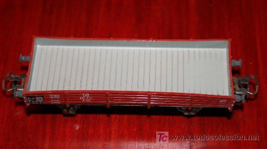 Trenes Escala: MARKLIN - VAGÓN DE BORDES BAJOS PARA MERCANCIAS REF. 4503 - Foto 4 - 26944813