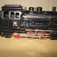 Trenes Escala: ANTIGUA LOCOMOTORA DB 89 DE LA DB REF.3000 DE MARKLIN EN *H0* CORRIENTE ALTERNA .. Lote 26991986