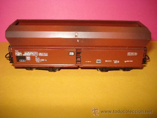 Trenes Escala: Vagon Descarga Automatica Ref. 4624 de MARKLIN escala *H0*.Fabricado año 1988. - Foto 5 - 24289284