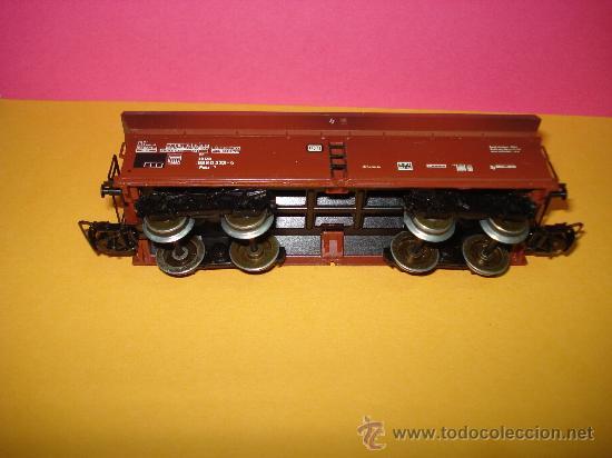 Trenes Escala: Vagon Descarga Automatica Ref. 4624 de MARKLIN escala *H0*.Fabricado año 1988. - Foto 3 - 24289284