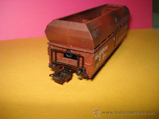 Trenes Escala: Vagon Descarga Automatica Ref. 4624 de MARKLIN escala *H0*.Fabricado año 1988. - Foto 4 - 24289284