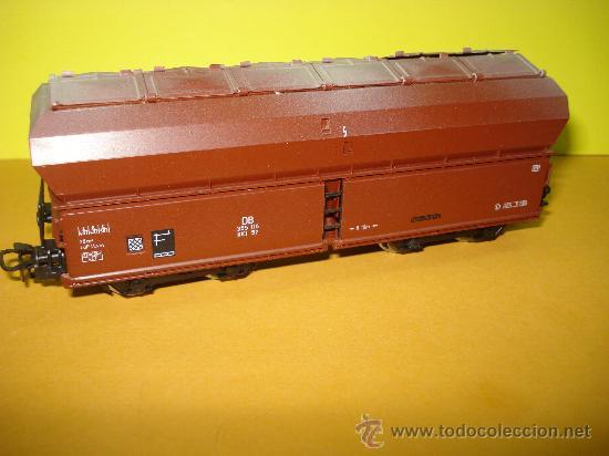 Trenes Escala: Vagon a Descarga Auto. con 10 Puertas Abatibles Ref. 4626 de MARKLIN escala *H0*.Fabricado año 1990. - Foto 4 - 27602244