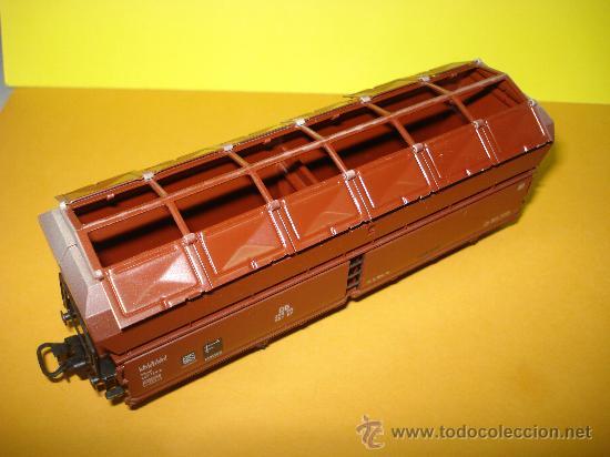 Trenes Escala: Vagon a Descarga Auto. con 10 Puertas Abatibles Ref. 4626 de MARKLIN escala *H0*.Fabricado año 1990. - Foto 2 - 27602244