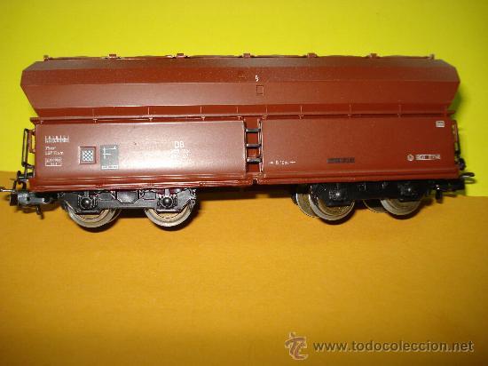 Trenes Escala: Vagon a Descarga Auto. con 10 Puertas Abatibles Ref. 4626 de MARKLIN escala *H0*.Fabricado año 1990. - Foto 6 - 27602244