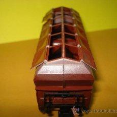 Trenes Escala: VAGON A DESCARGA AUTO. CON 10 PUERTAS ABATIBLES REF. 4626 DE MARKLIN ESCALA *H0*.FABRICADO AÑO 1990.. Lote 27602244